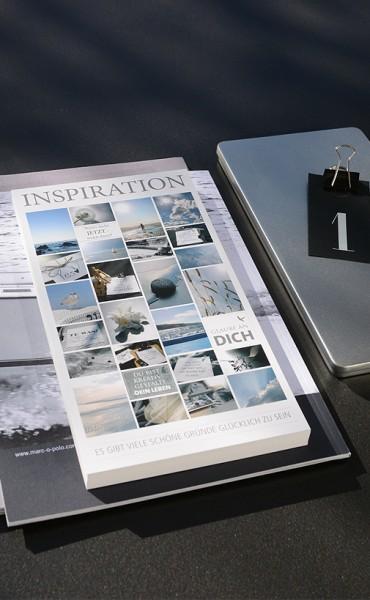 """Inspirationspostkarte """"Glücklich sein"""""""