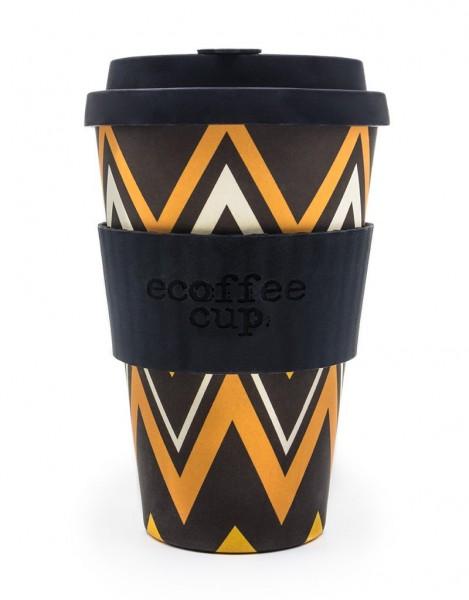 "Ecoffee Cup ""ZignZag"", 400ml (14oz)"