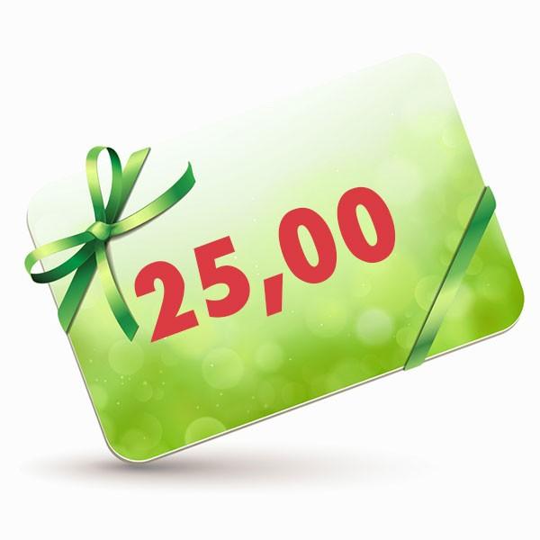 25 EUR-Gutscheinkarte