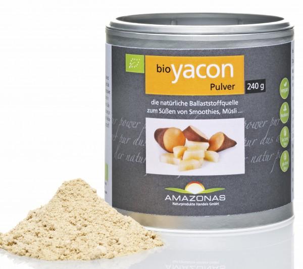 BIO Yacon Pulver 240 g