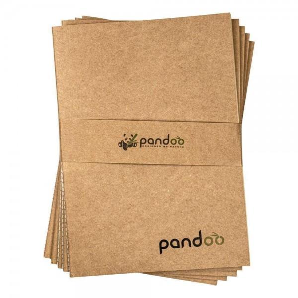 5 Notizhefte aus 100% Bambuszellstoff - DIN A4
