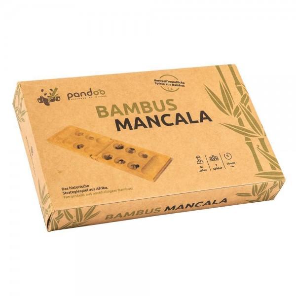 Mancala Bohnenspiel aus Bambus