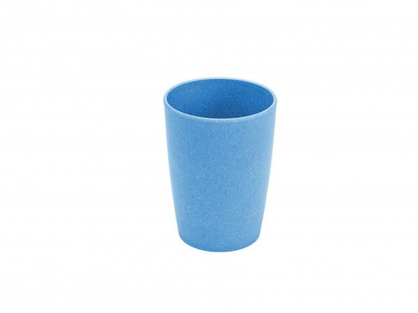 Trinkbecher Bambus, blau
