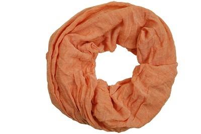 """Loop-Schal """"Juliane"""", orange, 180cmx100cm"""