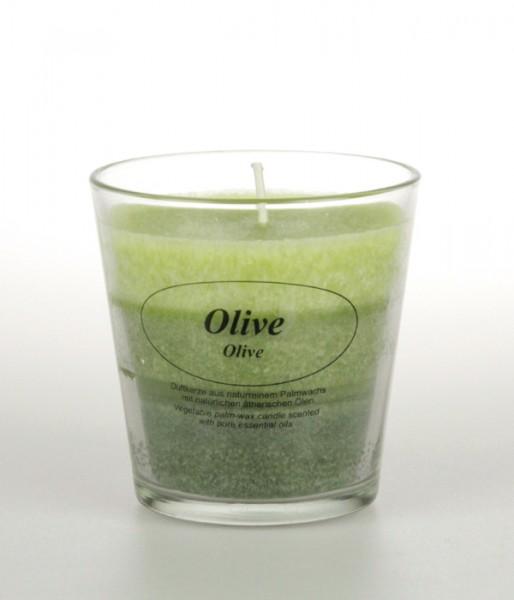 """Duftkerze Stearin """"Olive"""""""