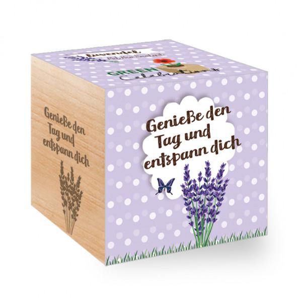 Green Celebrations - Lavendel - Genieße den Tag und entspann Dich