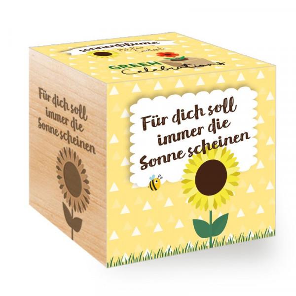Green Celebrations - Sonnenblume - Für dich soll immer die Sonne scheinen
